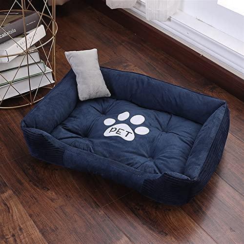 FUBINMY Cama Mascotas Cama para Mascotas Suave para Perros Casa Lavable para Cat Puppy Cotton Kennel Mat Mat Mot Pet Bed Productos para Mascotas Caliente para PEQUEÑO Perro Medio Medio