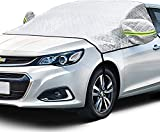 AstroAI Windshield Snow Cover, Car Windshield Cover for Ice and Snow 4-Layer Protection...