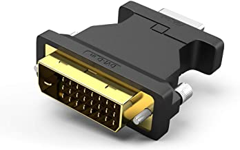 Sponsored Ad - DVI to VGA, 1080p DVI-D to VGA Adapter Connector 24+1 DVI Male to VGA Female Converter
