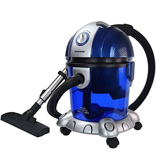 Syntrox Germany WS-2500W Neptun stofzuiger met waterfilter nat- en droogzuiger