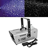 Tengchang 1500W Snow Machine Professional Stage DJ Party Snowflake Maker W/Controller
