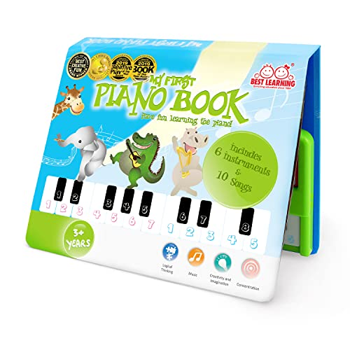 BEST LEARNING My First Piano Book - Educational Musical Toy for Toddlers...