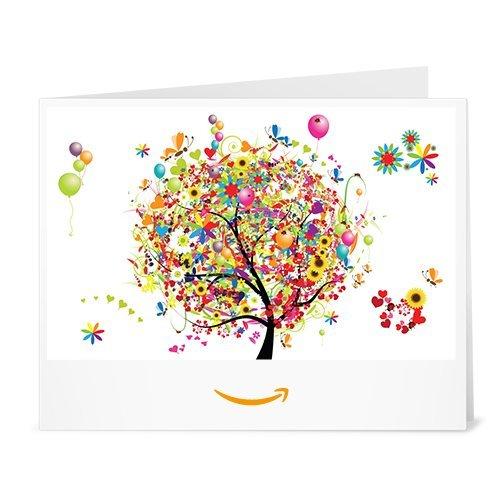 Chèque-cadeau Amazon.fr - Imprimer - Arbre à cadeaux