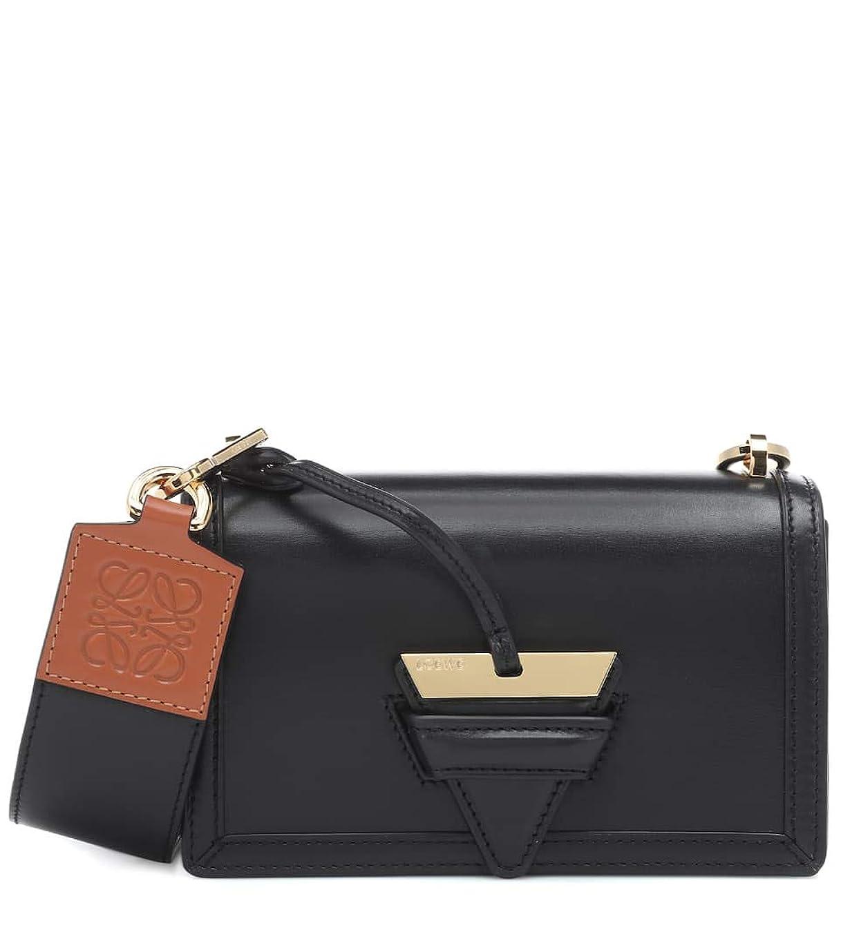 昇るリラックスした図[(ロエベ) LOEWE] [レディース バッグ ショルダーバッグ Women`s Barcelona Small leather shoulder bag Black] (並行輸入品)