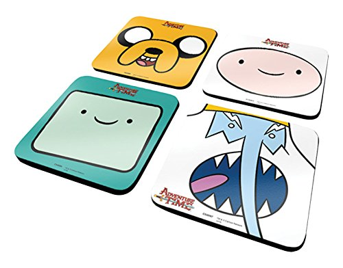 Adventure Time Lot de 4 sous-Verres