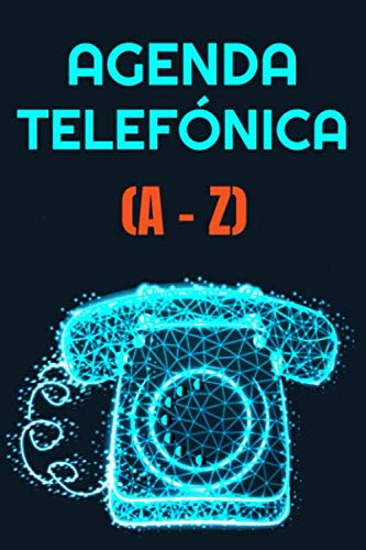 Agenda Telefónica A-Z: Vintage - Libreta de direcciones con 104 páginas - más de 400 contactos en ordenación alfabética letra A a la letra Z en Tamaño ... y direcciones de correo electrónico e-m