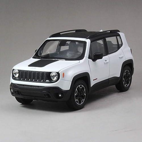 salida de fábrica YaPin Model Car 1 24 Jeep Freeman SUV Jeep Jeep Jeep Off-Road Aleación de Coche de Coche Modelo de Coche Modelo de Coche de Regaño de Juguete de los Niños ( Color   blanco )  tienda de pescado para la venta
