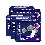 Caroli Protect + Care Hygiene-Einlagen, Maxi Plus, Vorteilspack (6 x 8 Stück), hautfreundlich und angenehm an der Haut, für Blasenschwäche, Inkontinenz-Einlagen …