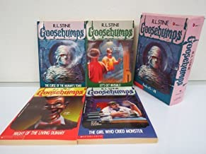 Goosebumps Boxed Set, Books 5 - 8: The Curse of the Mummy's Tomb, Let's Get Invisible!, Night of the Living Dummy, and The...