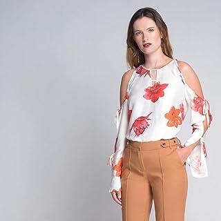 Blusa Cori Manga Longa Arabella Floral