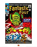 1art1 Die Fantastischen Vier - Marvel Comics Poster