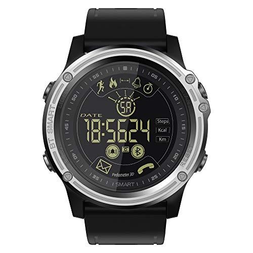 Relojes Inteligentes Para Adultos, IP68 Impermeable De Los Deportes De Los Hombres De Seguimiento De Fitness, Cronógrafo, Recordatorio De Llamadas, Compatibles Con Los Teléfonos Android Y IOS,A