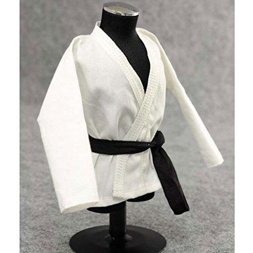 sharprepublic 1/6 Puppen Karate Judo Anzug Trainings Wu SHU Kleidung FPuppenhaus