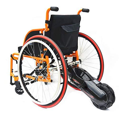 GJZhuan 24V 250W 8-Zoll-Zahnrad-Motor Elektro-Rollstuhl Lithium Batter Zugmaschine Rückseite Power Conversion Kits DIY Handbike Elektro-Rollstuhl-Umrüstsätze Mit Batterie
