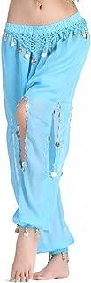 Women's Belly Dance Coins Lantern Pants