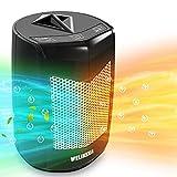 Calefactor Eléctrico -Calefactor Cerámico -Portáti, de Cerámica Personal de Aire Caliente con...
