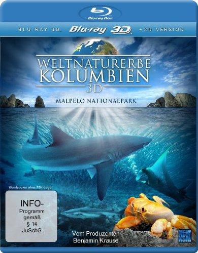 Weltnaturerbe Kolumbien 3D - Malpelo Nationalpark (+ 2D Version) [Blu-ray 3D]