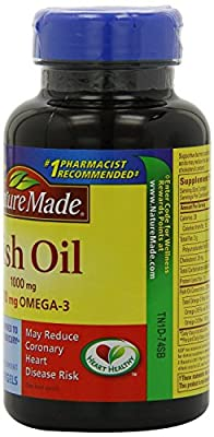 Nature Made Fish Oil Softgel