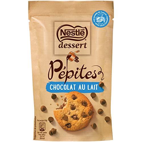 Nestlé Dessert Pépites de chocolat au lait - sachet de 100g