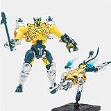 CZWNB Transformers Model Toys, Transformation TA BWM-03 Cheetor Commander Beast War Action Figure KO Robot Model Toys,Children's Gifts
