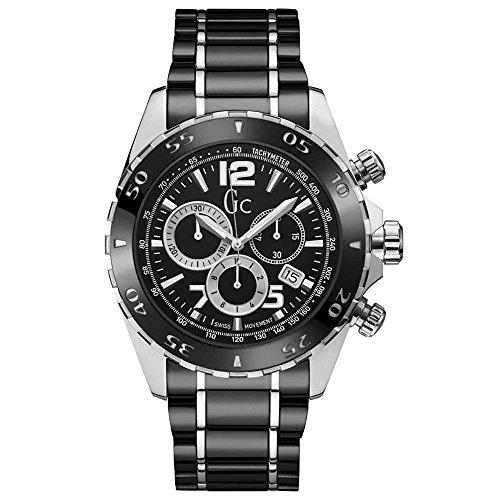 GC Uhr Analog mit Edelstahl Armband Y02015G2