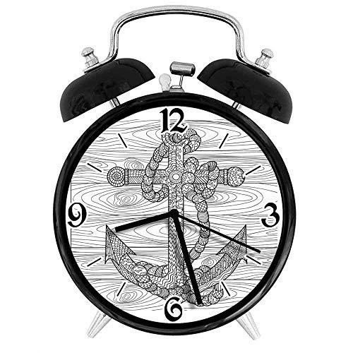 BeeTheOnly Exquisito Reloj Despertador Cuerda de Anclaje en