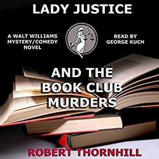 Lady Justice and the Book Club Murders cover art