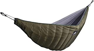 Chengstore Double Hammock Underquilt, Lightweight Winter Camping Under Blanket, Warm Hammock Under Quilt Insulation Foldab...