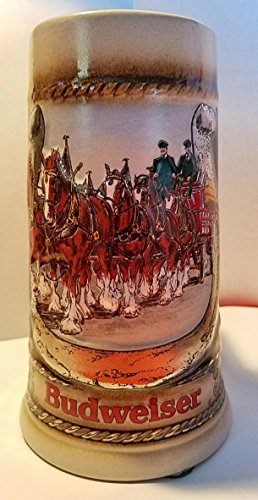 Budweiser Clydesdale Steins Collectable Stein Series (1986 AB# CS68)