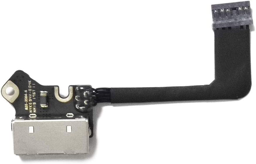 ICTION New A1502 DC Jack Power Board for Apple MacBook Pro 13
