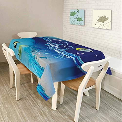 XXDD Textiles para el hogar Moderno Mantel 3D, Utilizado en la Cocina Color música partitura símbolo patrón Impermeable Rectangular Mantel A11 140x180cm