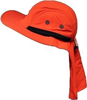 Bucket Sun Flap Bonnie Snap Hat Brim Neck Ear Cover Cap Fishing Hiking  Hunting Unisex 9ce4d4ecb915