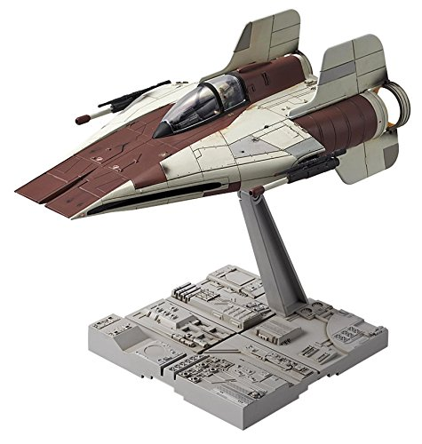 Star Wars A-wing starfighter 1/72 scale plastic model