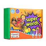 Super Words - CVC Word Builders, Phonics Games, Rhyming Words Game for Kids, Kindergarten Learning Games, Match it Puzzles for Toddlers, Learn to Read Game, CVC Words for Kindergarten Activities