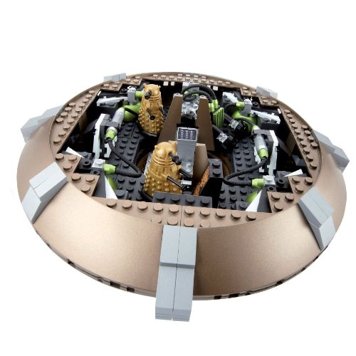 DOCTOR WHO Character Options Nave Espacial Dalek y Accesorio