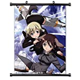 Strike Witches Anime Fabric Wall Scroll Poster (16' x 21') Inches. [WP]-Strike-125
