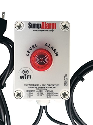 Wireless (Wifi) In/Outdoor Sump Pump/High Water Alarm - Contacts you by voice e-mail and text before you have a problem.