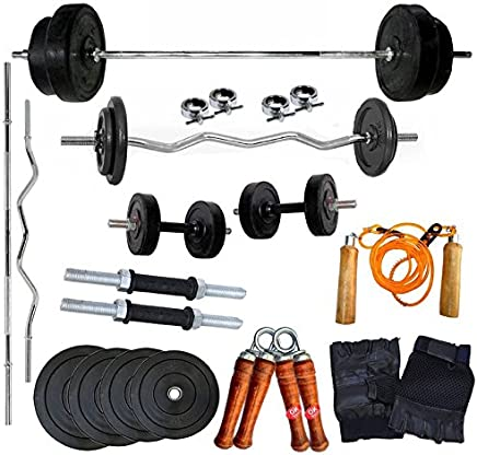 generic Ekatra Fitness Home Gym Combo,30 Kg