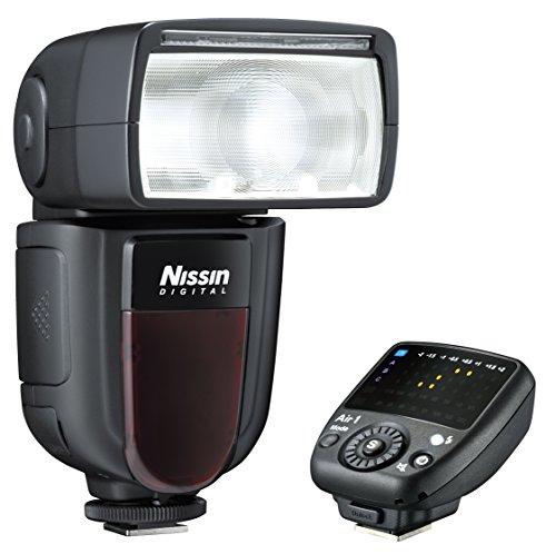 Nissin DI700A - Flash y transmisor para Nikon, Color Negro