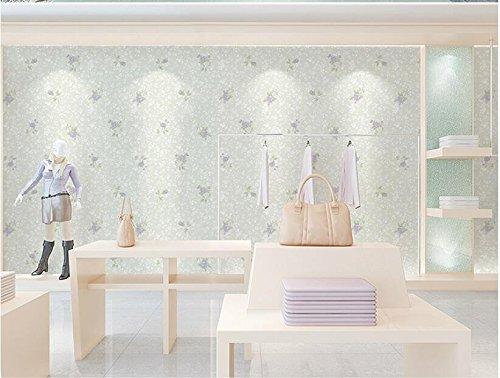 Ayzr Pastorale Nicht 3D Wallpaper Wohnzimmer Wallpaper Gewebt, Violett