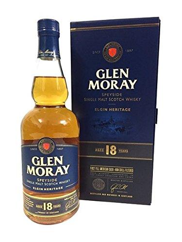 Glen Moray 18 Years Single Malt Scotch Whisky 47,2% 0,7l Flasche