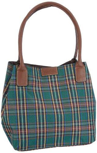 Tom Tailor Acc Damen MIRI BRIT Shopper, Grün (grün 30), 25x28x15 cm