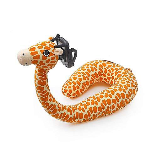 SFBBBO Cuscino Comodo Cuscino per Collo a U Cuscino per Telefono Cellulare per Animali Supporto per Collo alleviare la Pressione del Corpo Cuscino Pigro Morbido da Viaggio 1