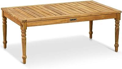 Plo/ß Outdoor furniture Milford Klapptisch 120 x 70 x 75 cm Eco Teak Natur