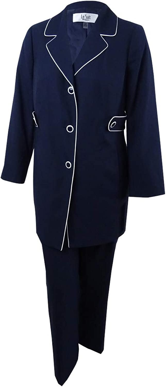 Le Suit Womens Petites 2 PC Work Wear ThreeButton Suit