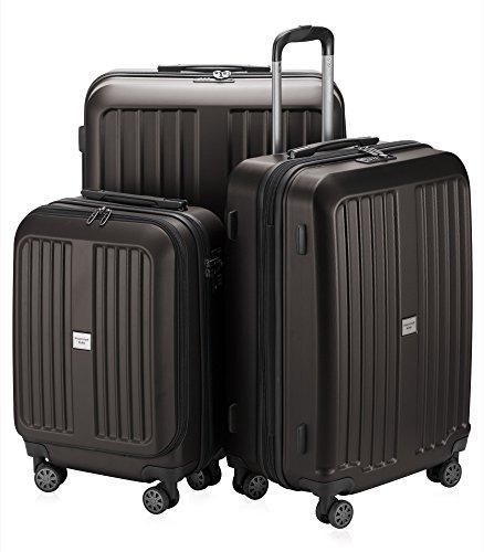 HAUPTSTADTKOFFER X-Berg Set di 3 valigie, colore Blu Scuro Grafite, (S, M & L), 258 litri