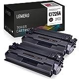 2 LEMERO CF226A 26A CF226X 26X Cartucce di Toner Compatibile per HP LaserJet Pro M402d M402n M402dn M402dne MFP M426dw M426fdn M426fdw Stampante,Nero