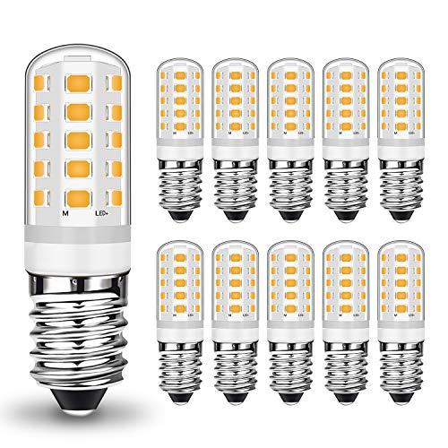 E14 LED Dimmbar Warmweiß 5W Led Lampe Ersatz 28W 33W 40W Halogenlampe, E14 Sockel Led leuchtmittel 400LM Kein Flackern, AC 220-240V, 10er Pack
