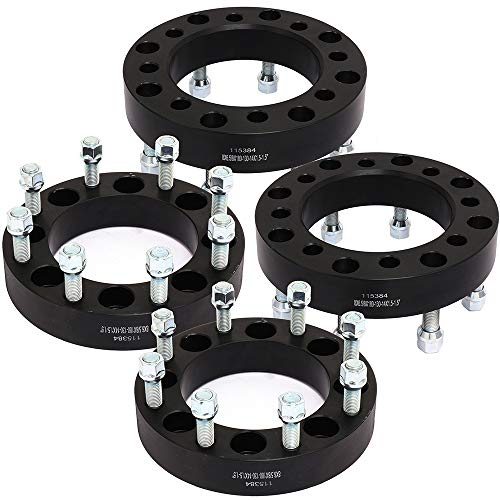 """4X 1.5/"""" 8x165.1 to 8x180 Wheel Spacers Adapter For Chevrolet Silverado 1500 HD"""