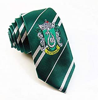 giulyscreations Sciarpa Serpeverde Replica Harry Potter Mago Magia Hogwarts Saga HP Slytherin